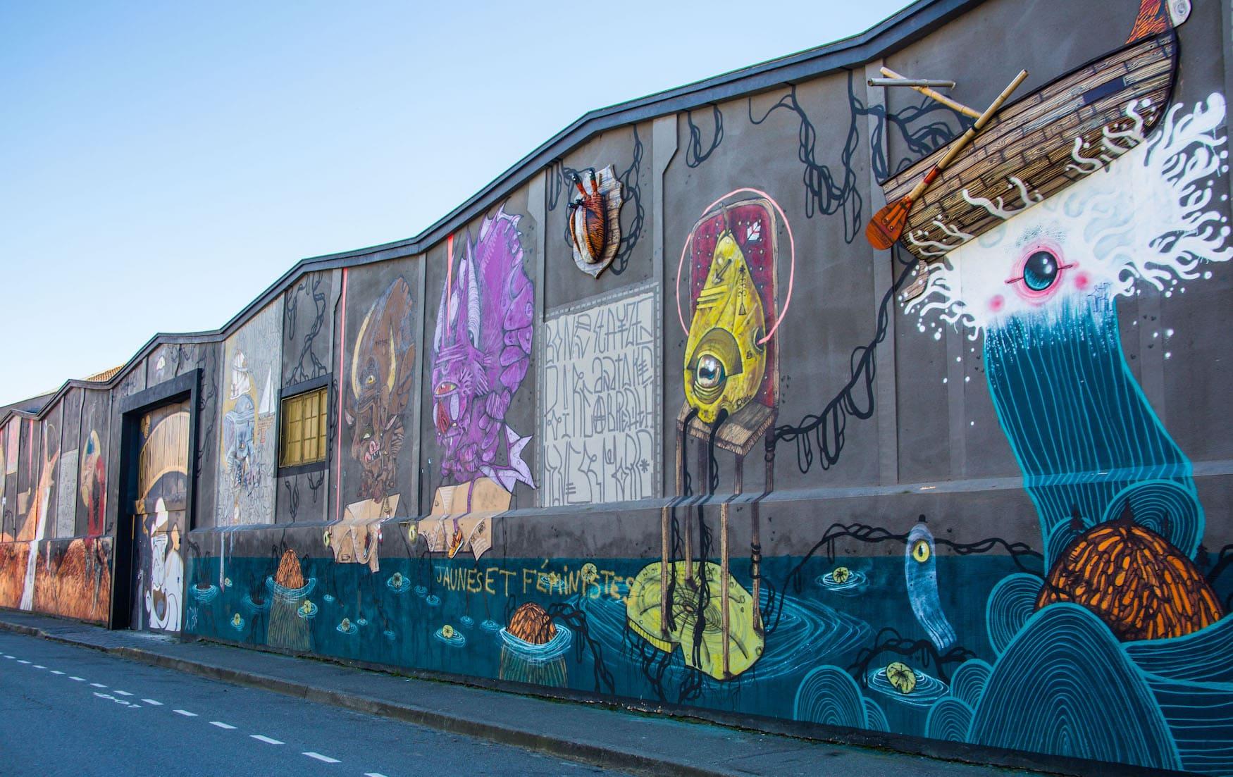 Street-Art des Künstlers 100Taur