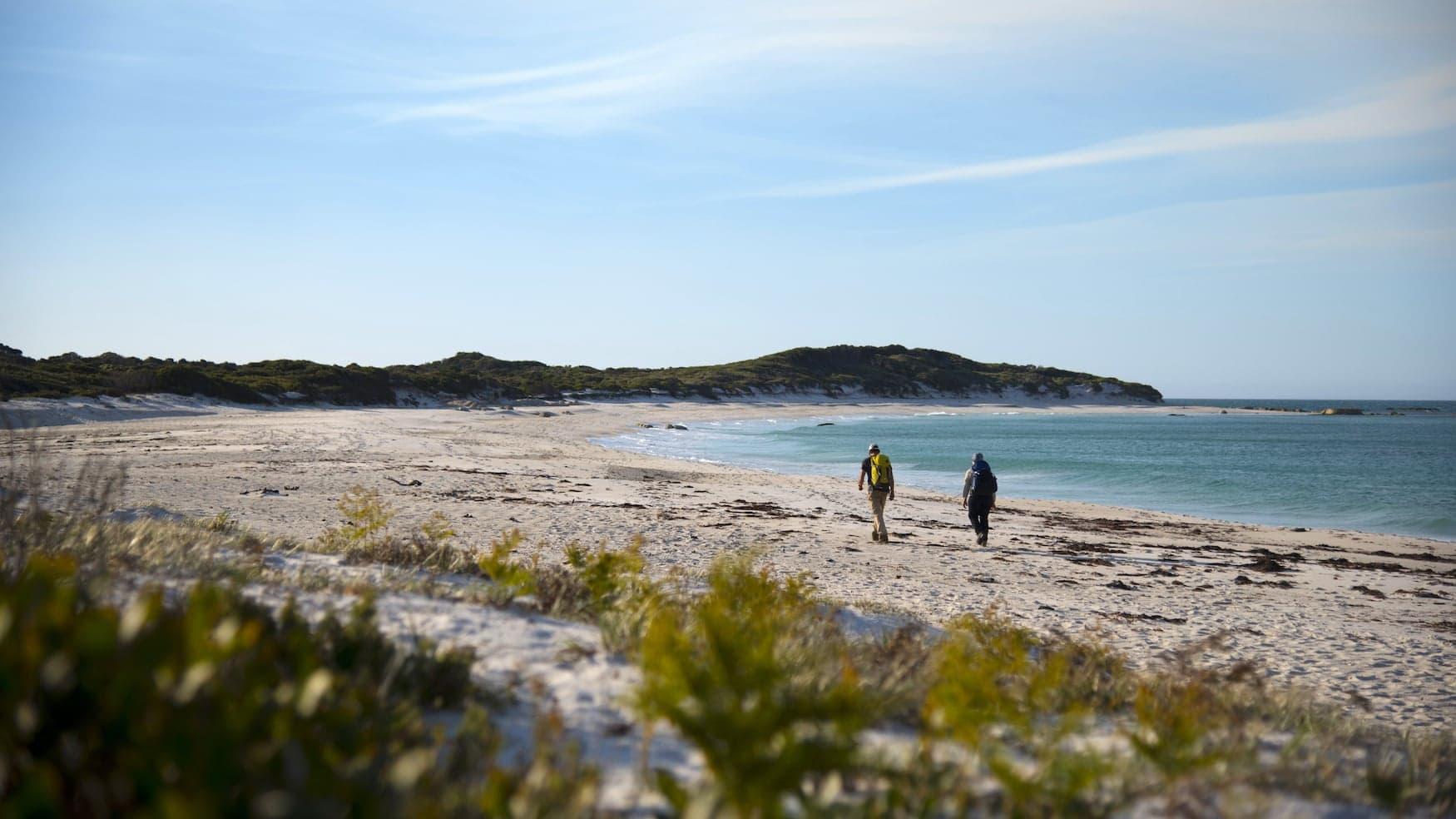 Beim Wukalina Walk erfahren Gäste mehr über die Creation Stories und die sich vom Festland unterscheidende Kultur der Aborigines der tasmanischen Insel.