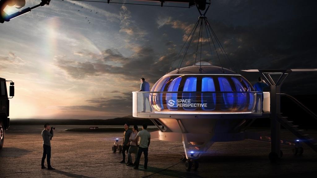 Noch stehen die Space Ballons am Boden - doch schon 2024 geht die Reise los.