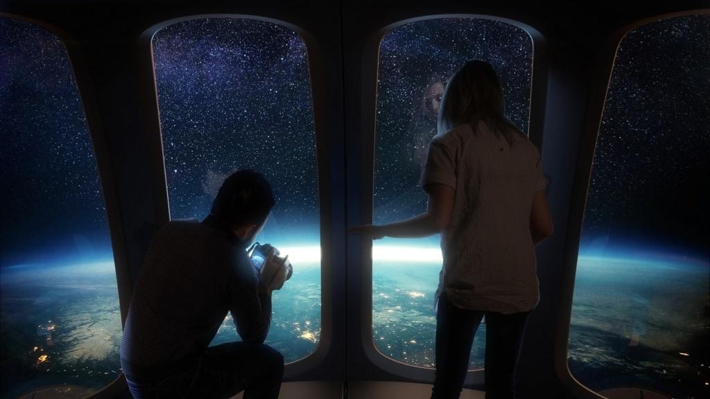 Der Traum vom Flug (fast) ins All könnte für einige bald wahr werden.