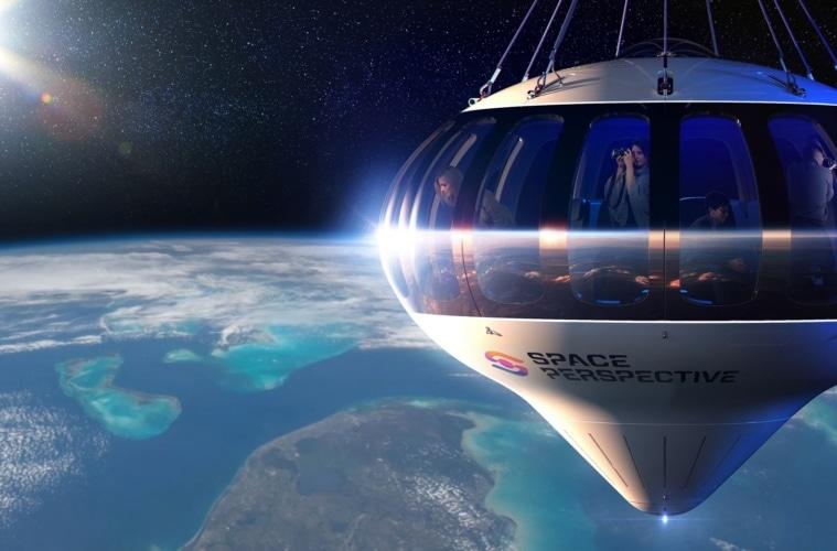 So sieht das Raumschiff von Space Perspective aus.