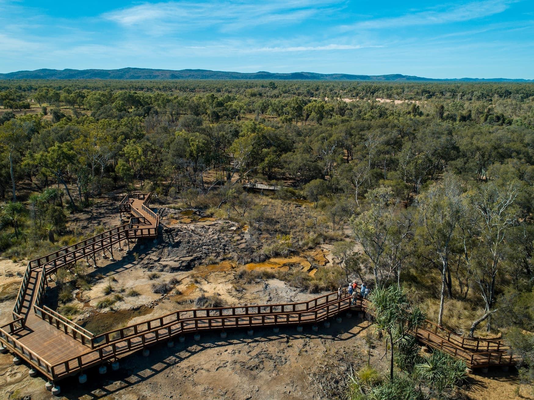 Talaroo Hot Springs im australischen Queensland