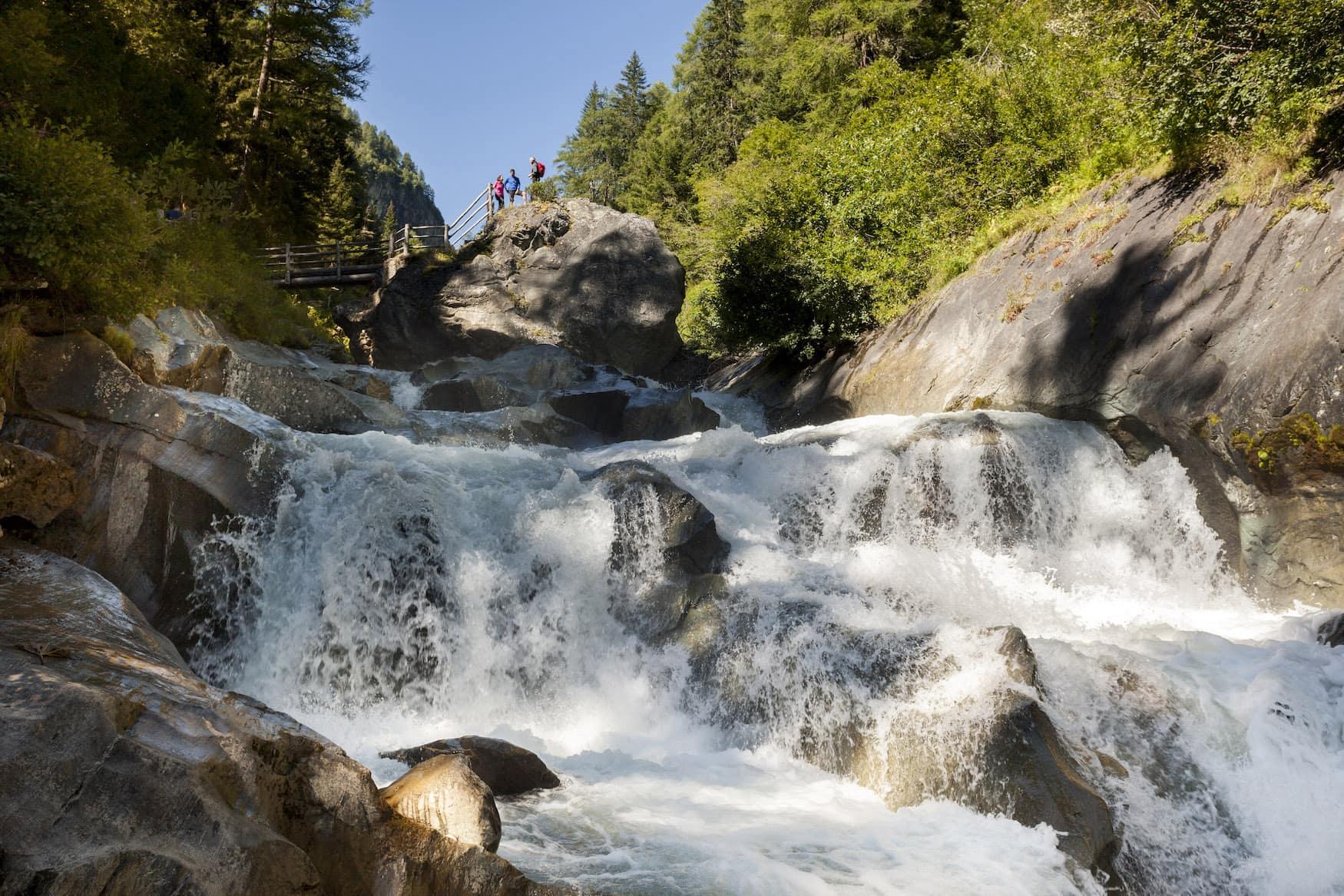 Umbalfälle im Virgental im Nationalpark Hohe Tauern