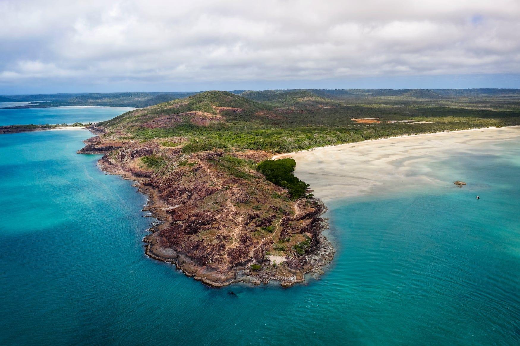 Die Spitze von Cape York, dem nördlichsten Punkt des australischen Festlandes