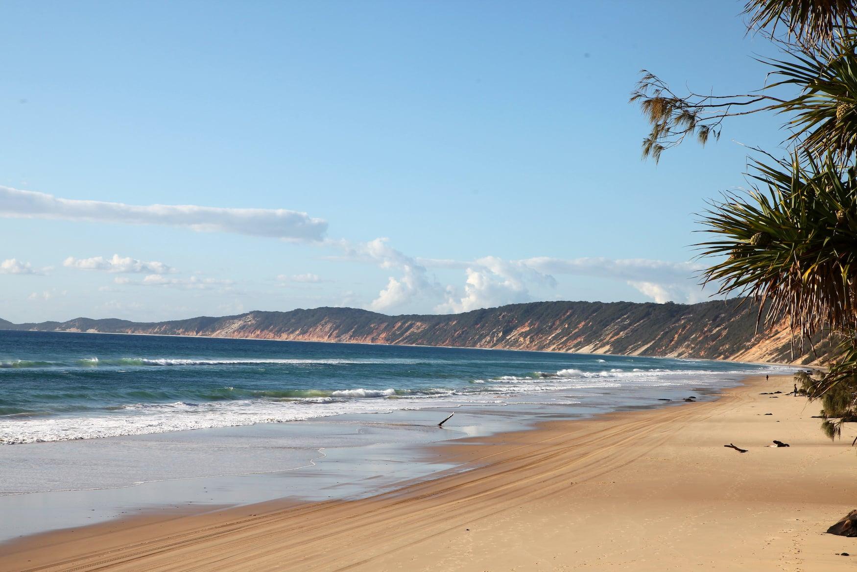 Rainbow Beach in Queensland, Australien