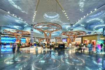 Luxury Square Shops im Airport Istanbul