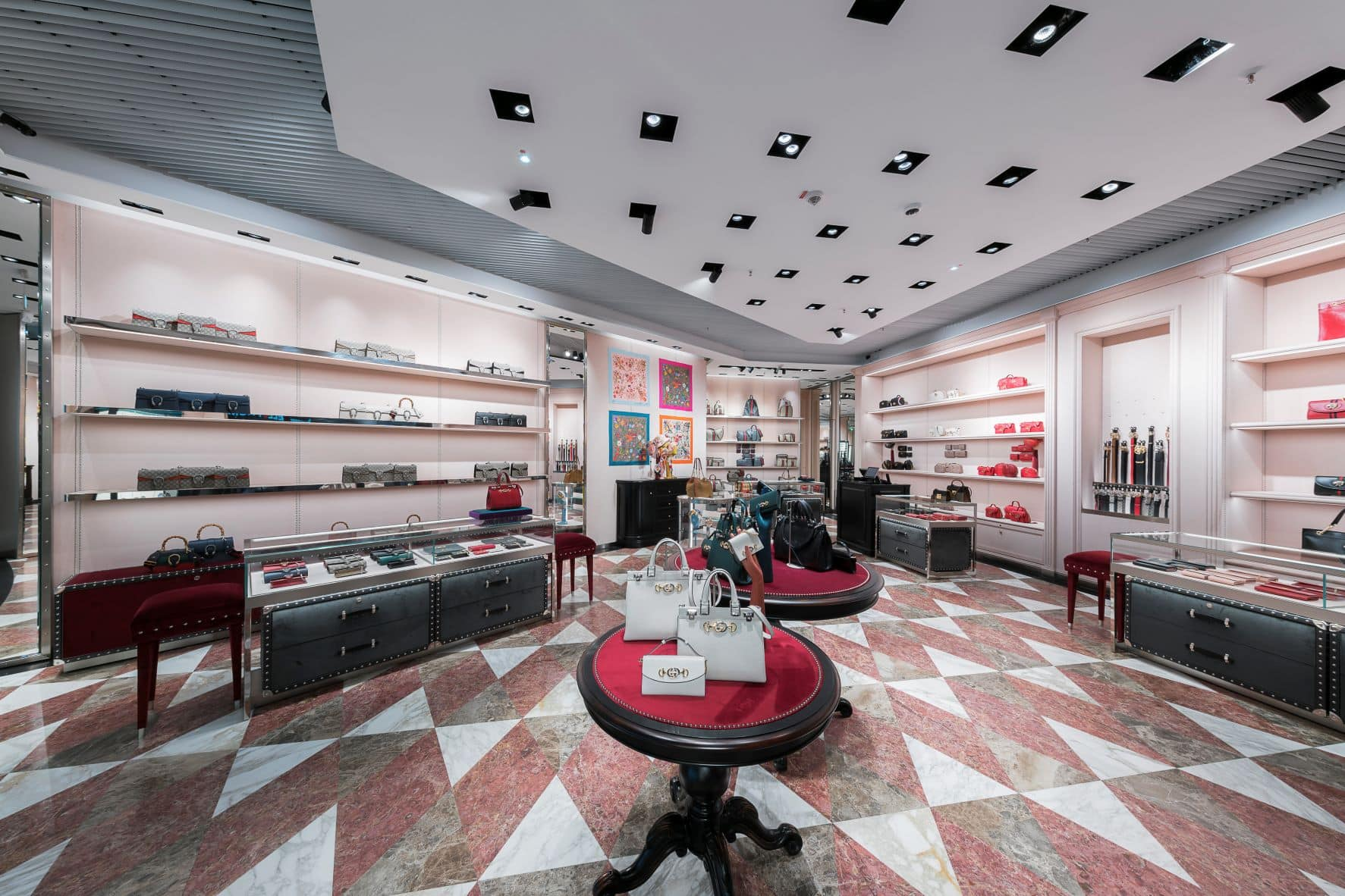 Gucci-Shop im Istanbul Airport