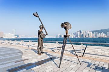 Avenue of Stars erinnert an die Drehorte in Hongkong