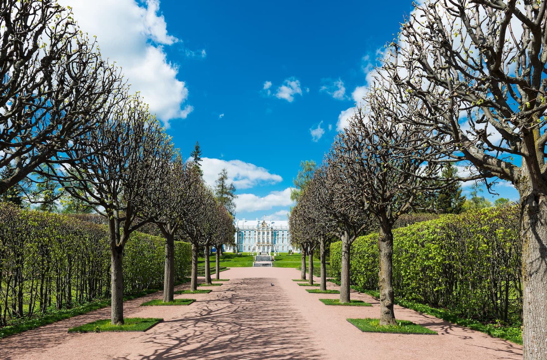 Gasse im Katharinenpark