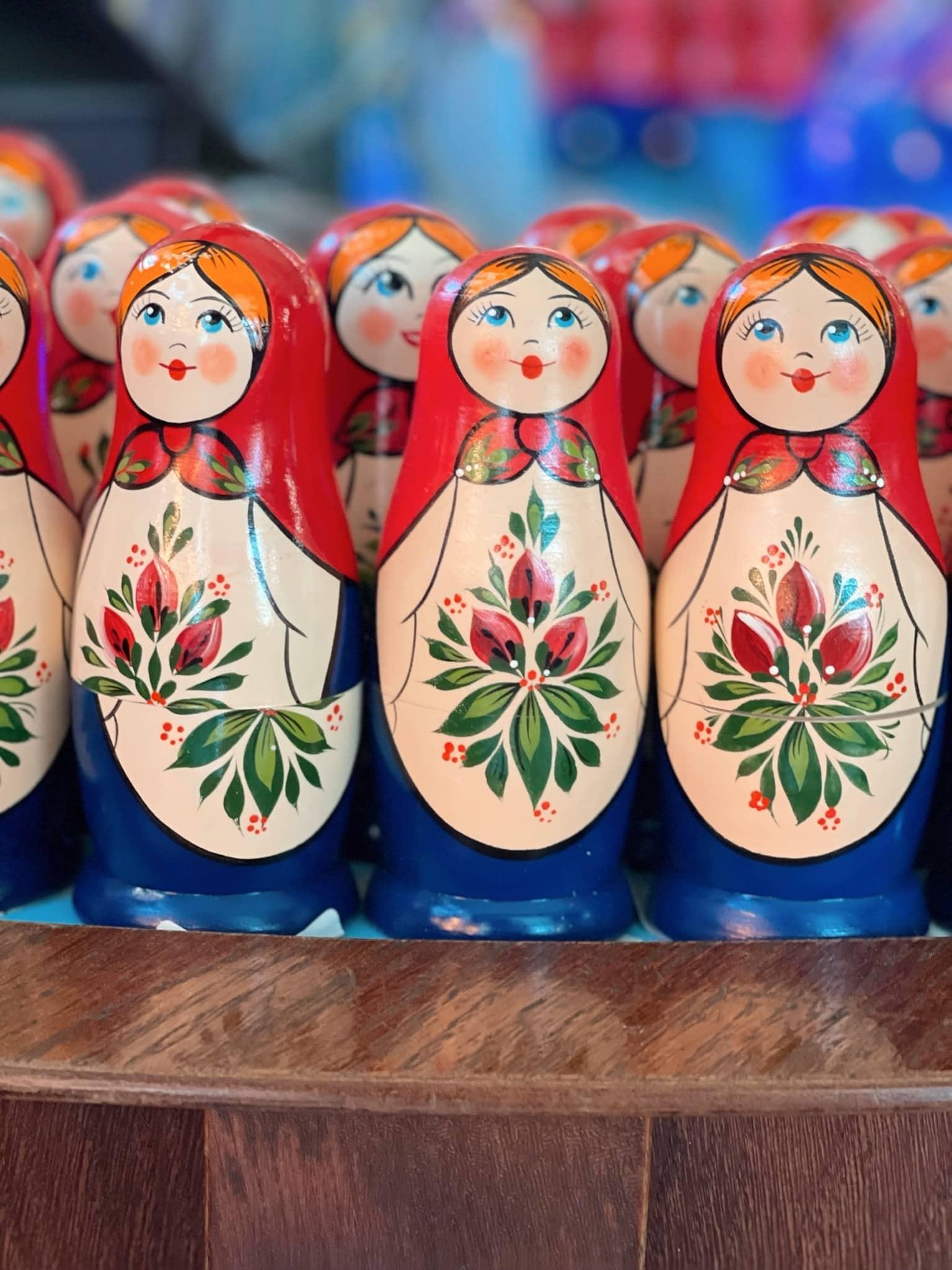 Schönes Mitbringsel aus St. Petersburg: Matruschkas