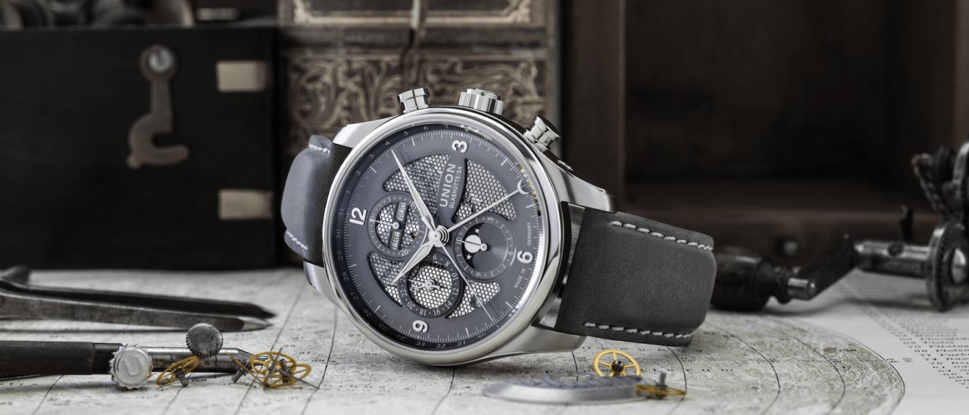 Uhrenmodell Belisar Chronograph Mondphase von Union Glashütte