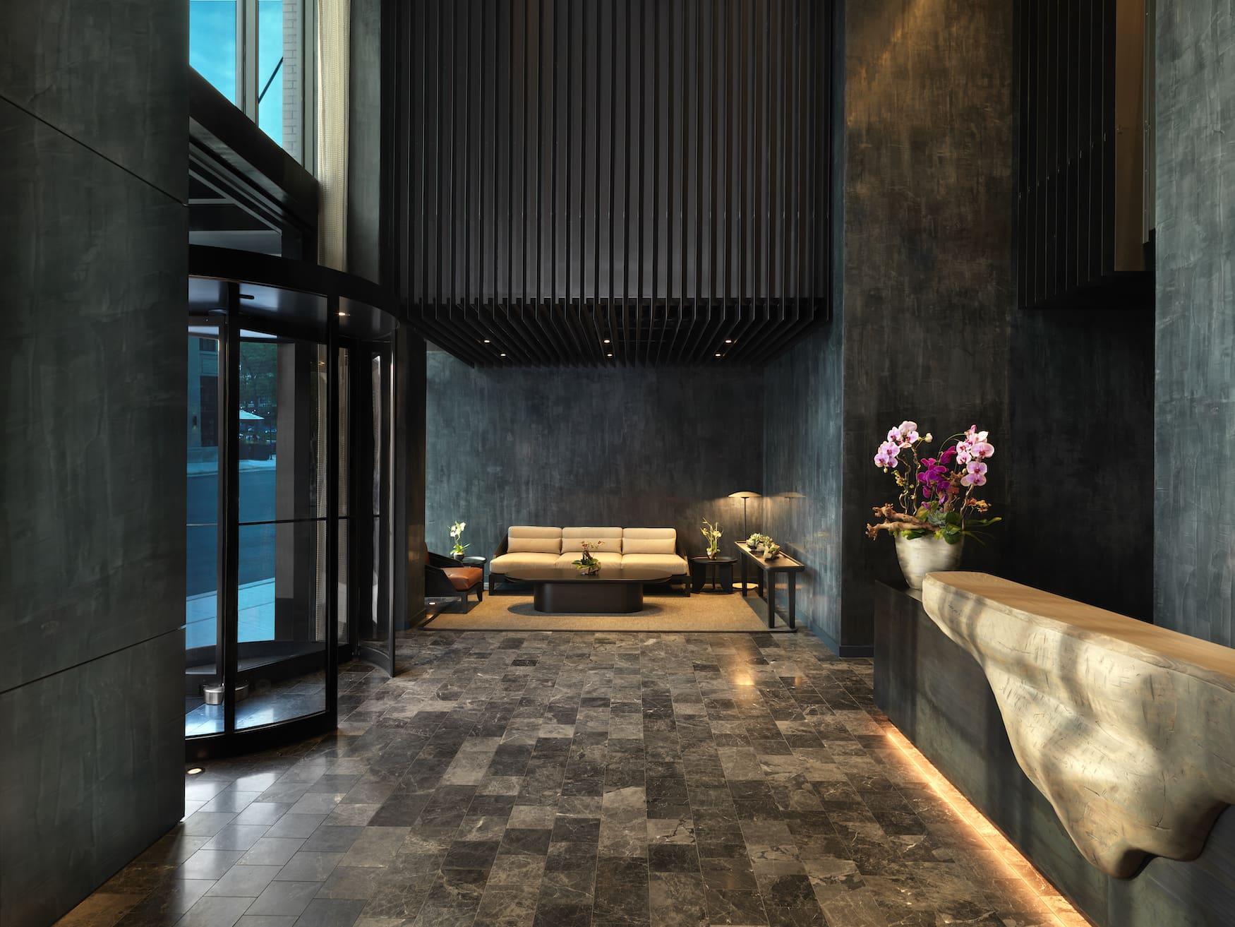 Lobby im Nobu Hotel Chicago