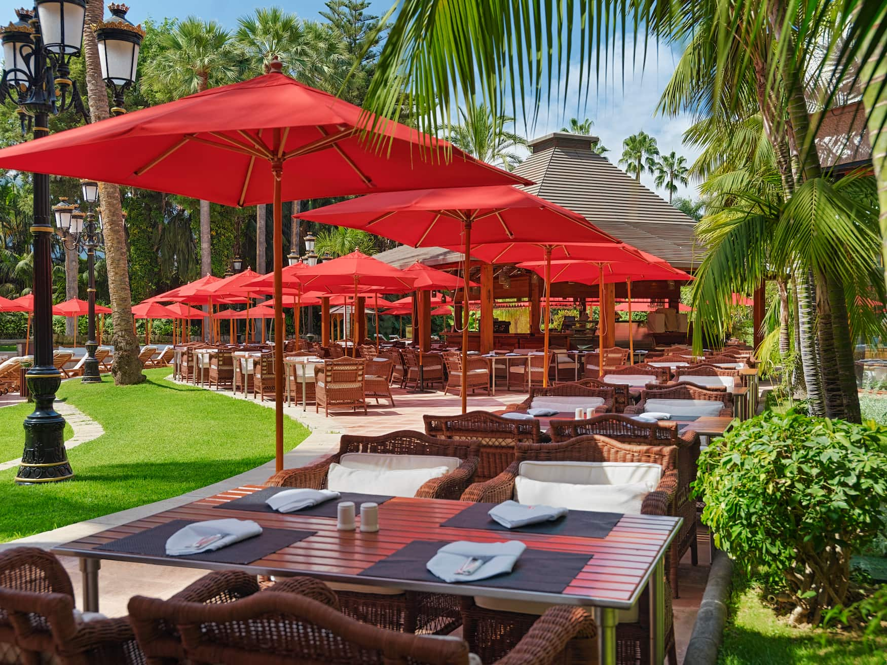Palmera Real Restaurant im Hotel Botánico & The Oriental Spa Garden