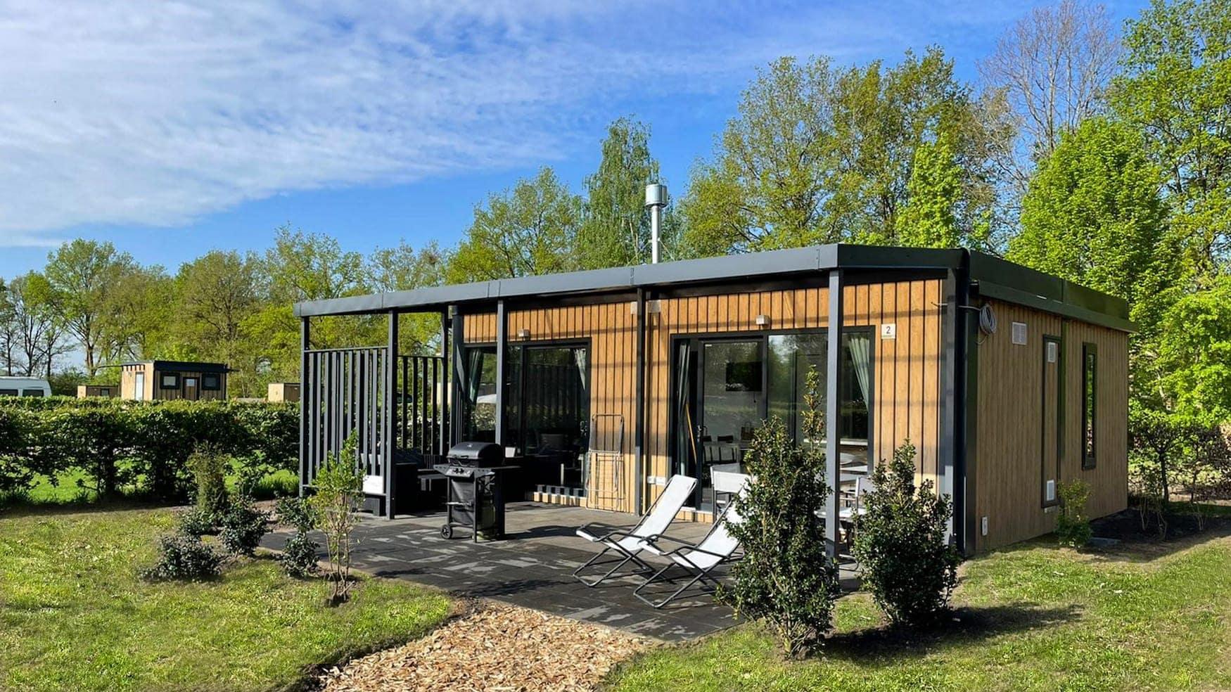 Urlaub in der Natur im Papillon Country Resort im niederländischen Twente
