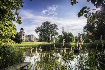 Idylle pur: Bei einem Spaziergang durch den Schlosspark hört man die Bäume rauschen und Vöglein zwitschern. | Stefan von Stengel