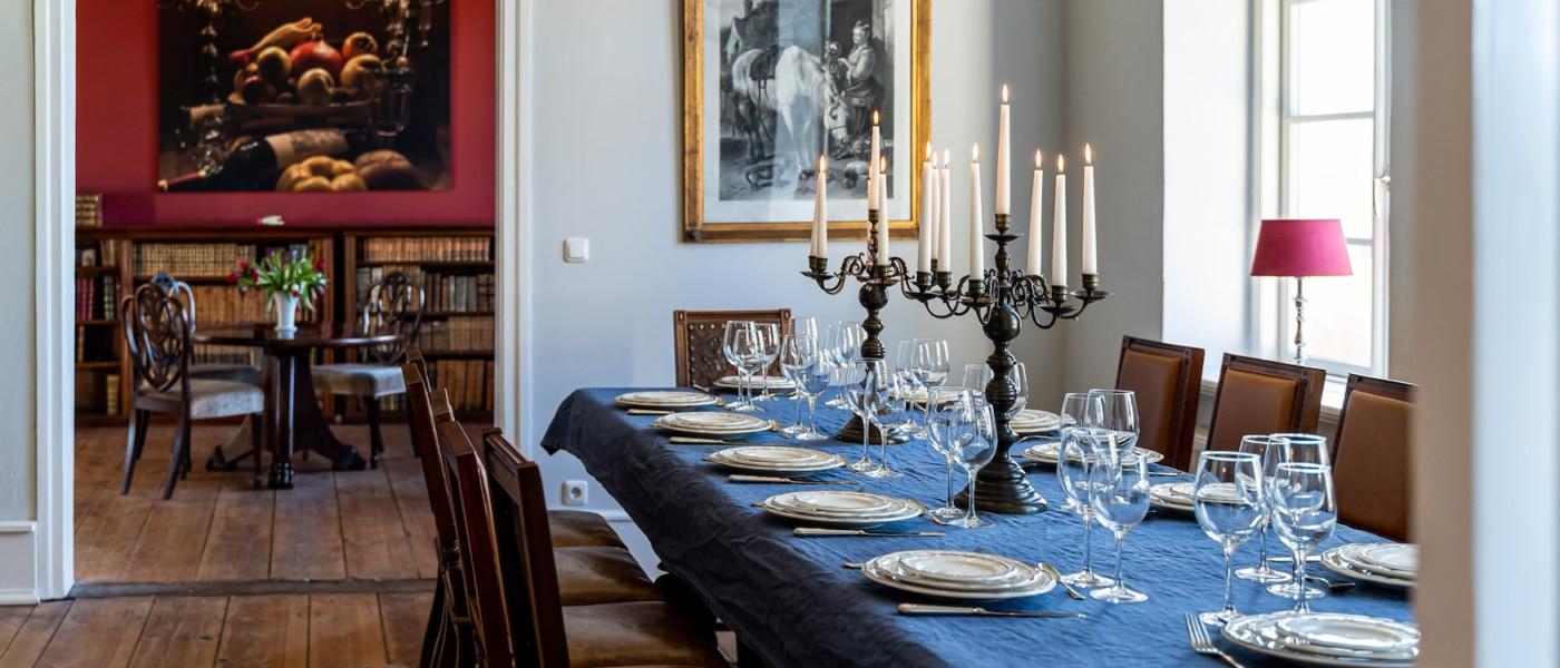 Neben Kunst und Historie werden in vielen Guts- und Herrenhäusern kulinarische Events in herrschaftlichem Ambiente angeboten. | Alexander Rudolph, Gutshaus Zahren