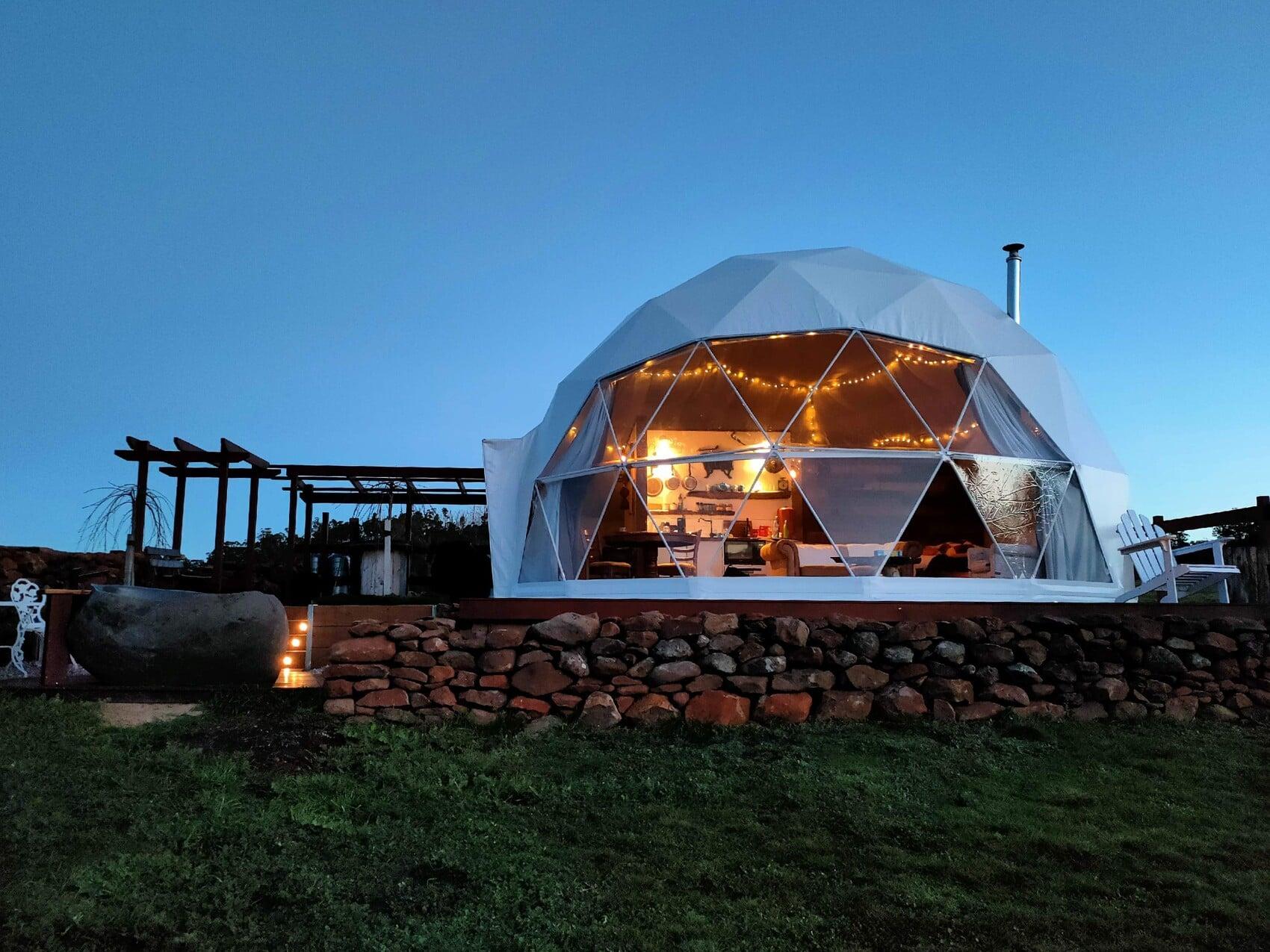 Unterkunft in der Luna Lodge auf Tasmanien