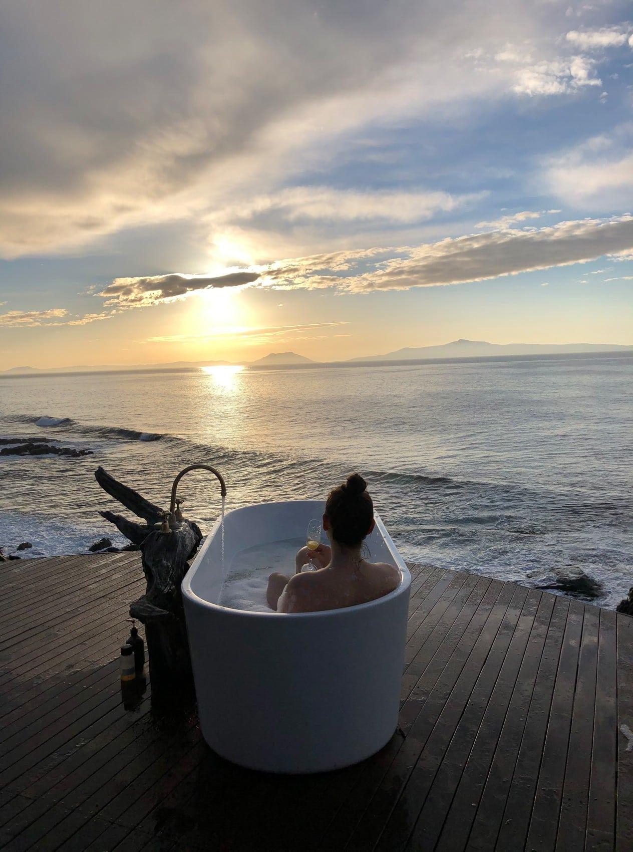 Outdoor-Badewannen in Tasmanien: Thalia Haven