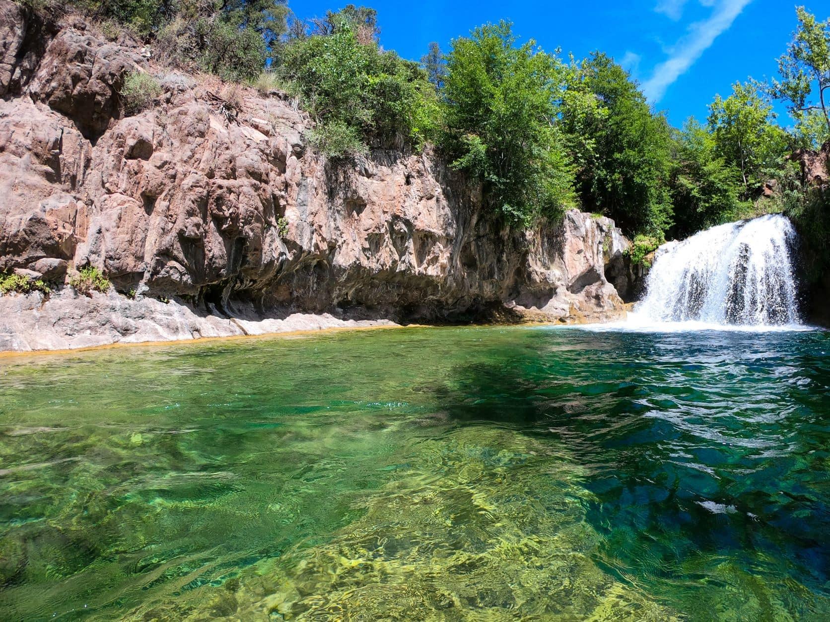 Wasserfall in Fossil Creek