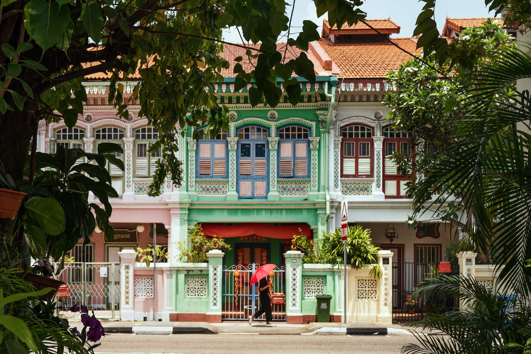 Bunte Kulturen in Singapur