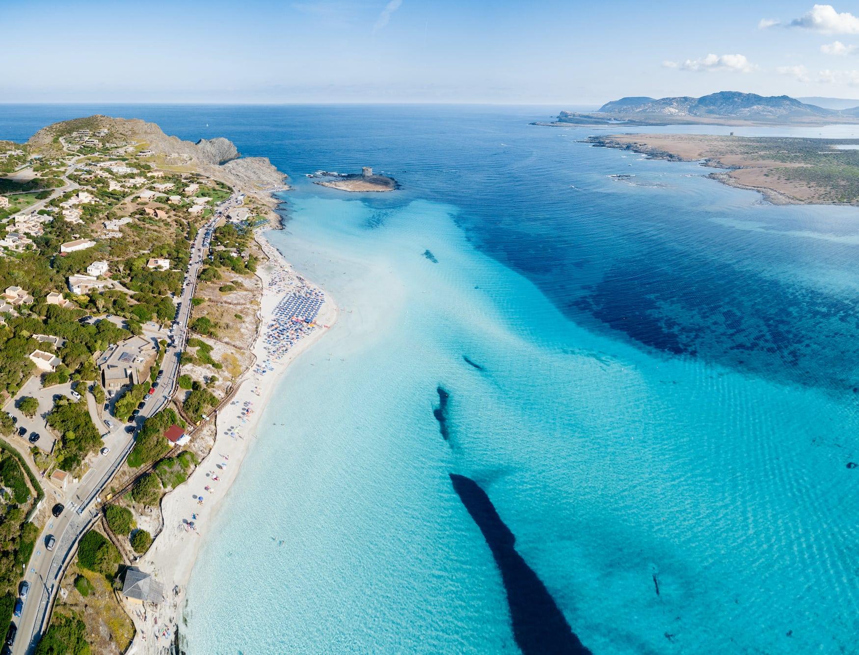 Schöne Strände in Europa: La Pelosa auf Sardinien
