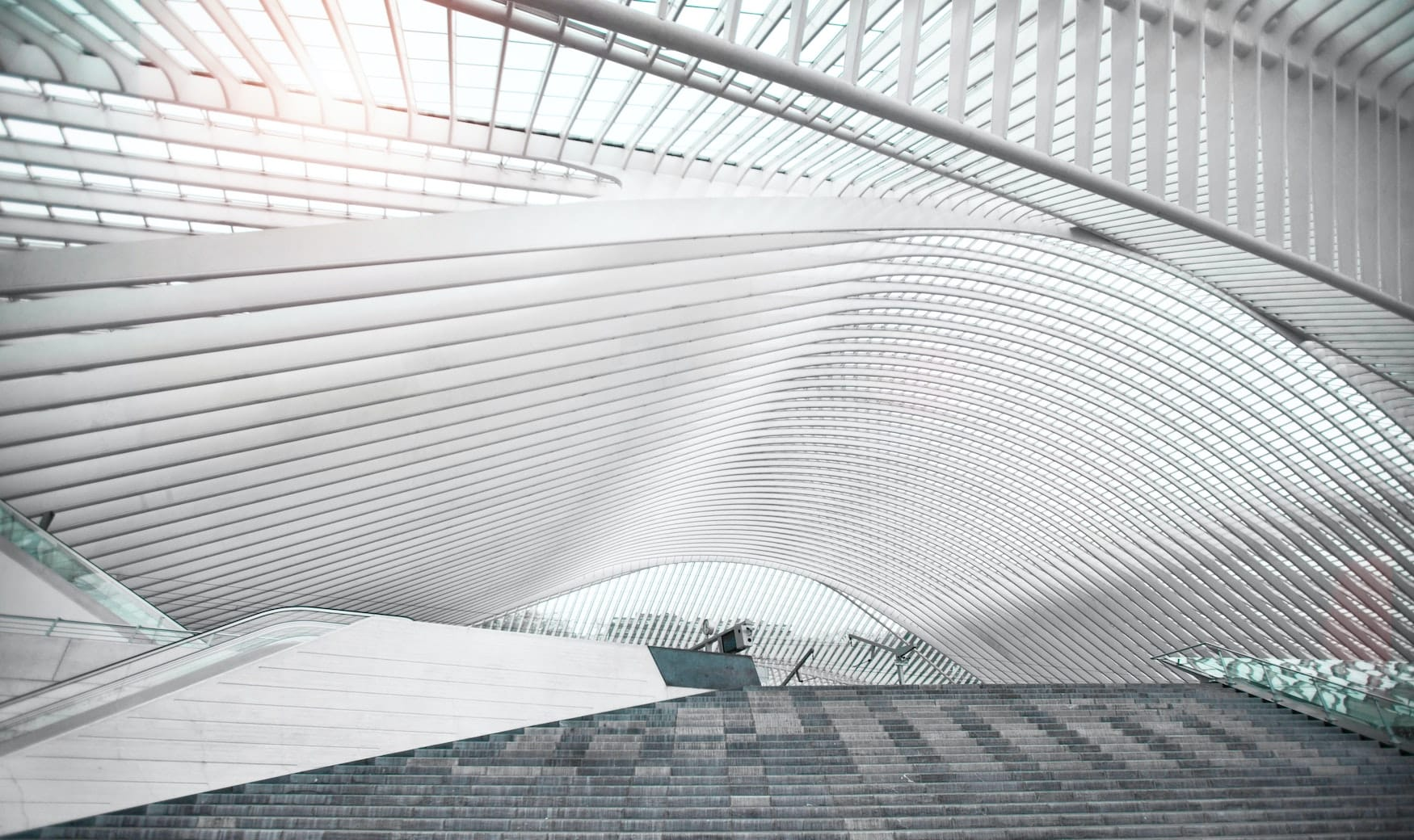 Hauptbahnhof in der belgischen Stadt Lüttich
