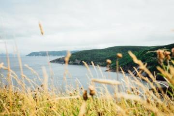 Küstenstraßen in Nova Scotia