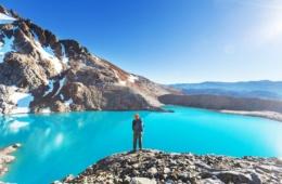 Wanderer in Patagonien