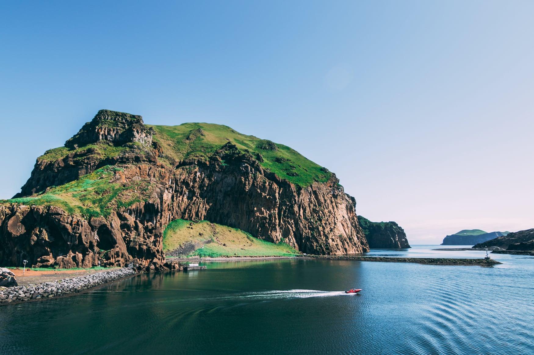 Küste der Westmännerinseln