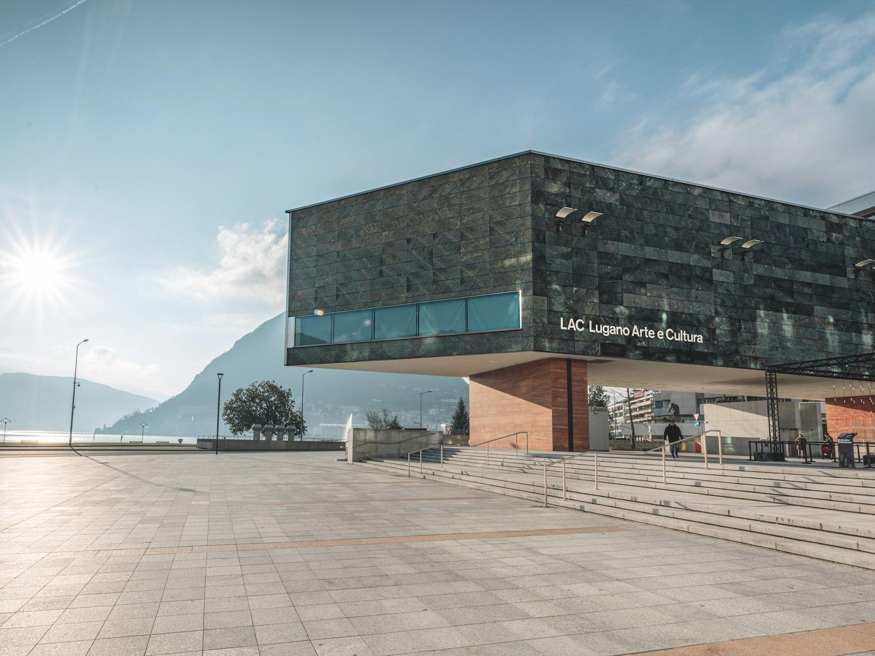 Kunstzentrum LAC Lugano Arte e Cultura MASI inLugano, Schweiz