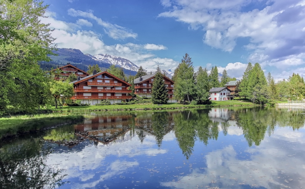 Chalets am See in Crans-Montana