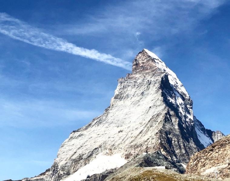 Spitze des Matterhorns