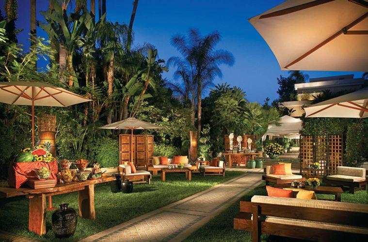 Schön hier, im Four Seasons Beverly Hills