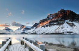 Skifahren in Alberta: Bei diesem Ausblick lässt man sich nicht zweimal bitten