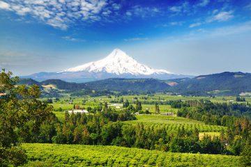 Blick auf den Mount Rainier im Nordwesten der USA