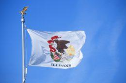 Flagge von Illinois