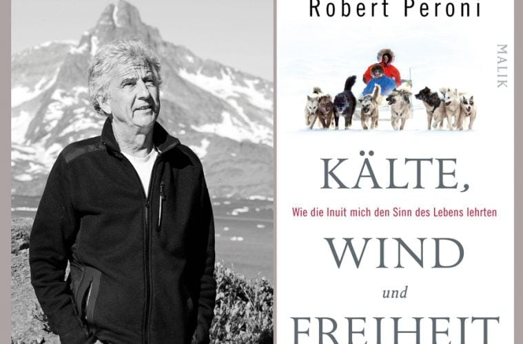 Links Robert Personi, rechts das Cover seines Buches