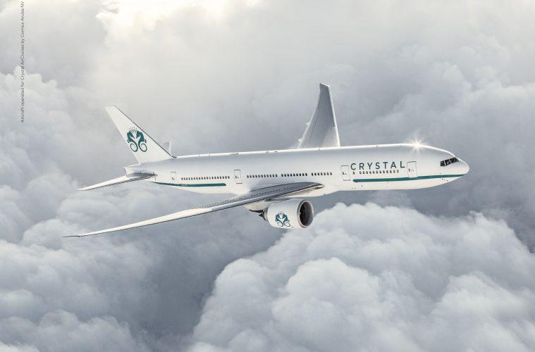 Modell der Crystal AirCruises