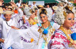 Tänzerin in Azuero