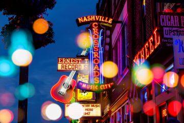 Bar- und Clubbeleuchtung in Nashville