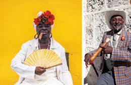 Gesichter aus Kuba