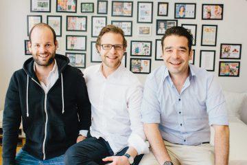Just Spices-Gründer Florian Falk, Ole Strohschnieder und Bela Seebach